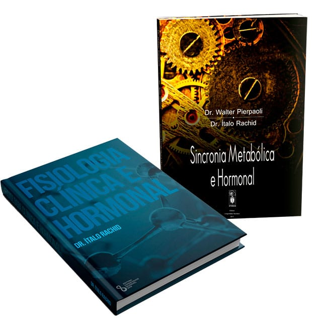 Livros: Fisiologia Clínica Hormonal + Sincronia Metabólica Hormonal