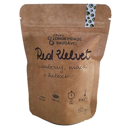 Chá Red Velvet
